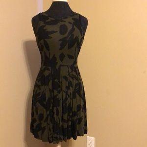 Loft Floral Dress with elastic waist